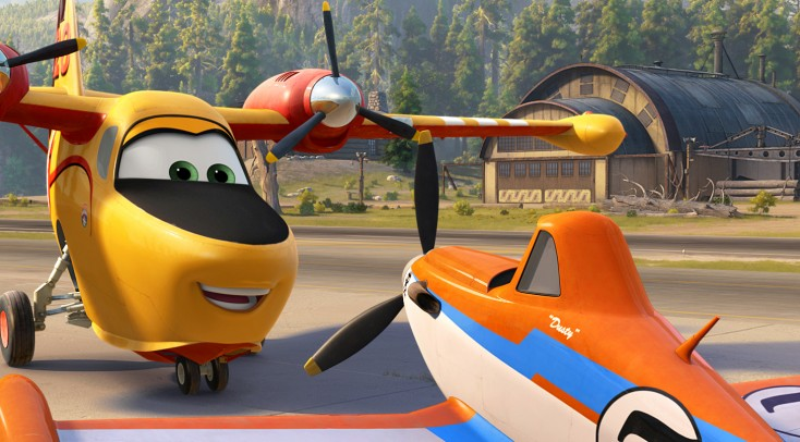 Dusty Rides Again in 'Planes: Fire & Rescue' – 3 Photos