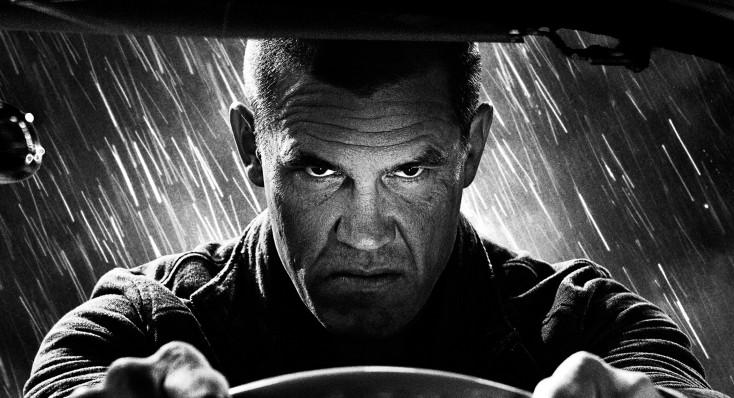 Josh Brolin Enters the Noir World of Frank Miller's 'Sin City'