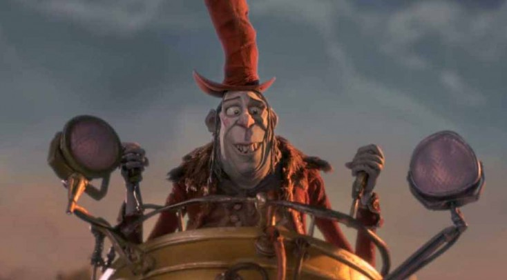 Sir Ben Kingsley Builds Another Baddie for 'Boxtrolls' – 3 Photos