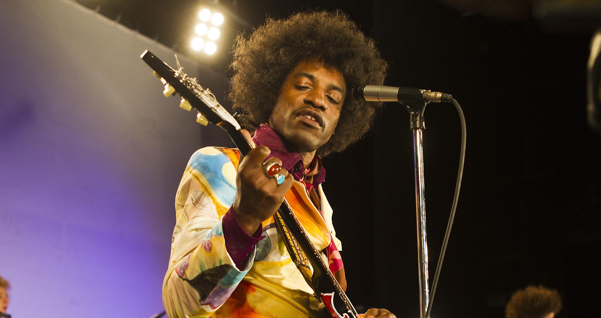 Andre Benjamin Inhabits Legendary Rocker In Jimi All Is