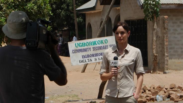 EXCLUSIVE: Sarah Wayne Callies Ventured to Rural Nigeria for Film – 3 Photos