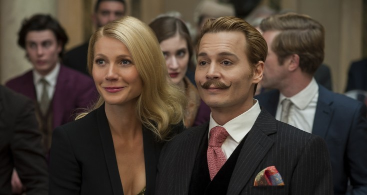 Movie Trailer: Johnny Depp in 'Mortdecai' Opens Friday in Theaters