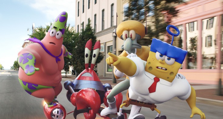 Photos: SpongeBob Fans Will Likely Soak Up Big Screen, 3-D Movie
