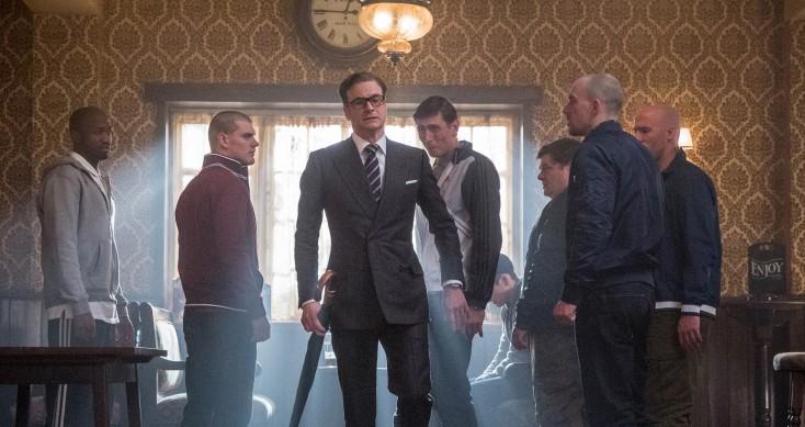 Colin Firth's 'Kingsman' Spoofs '70s Spy Flicks