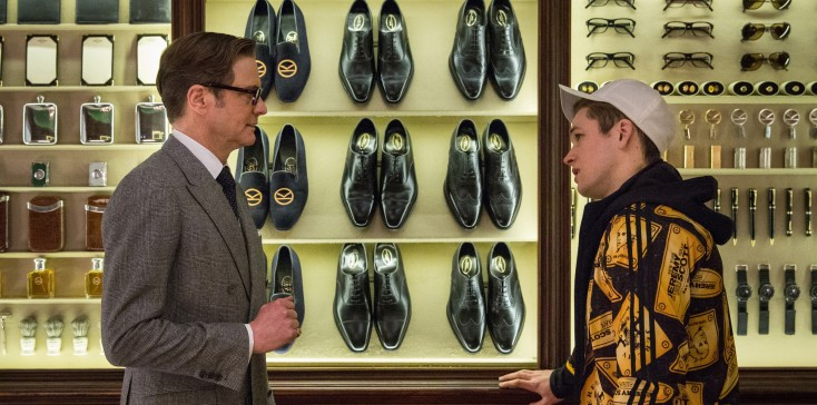 Photos: Colin Firth's 'Kingsman' Spoofs '70s Spy Flicks