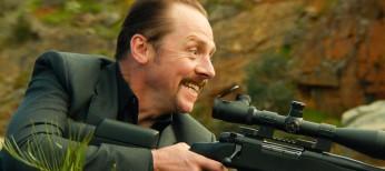 Simon Pegg Plays Hit Man Times 'Three'