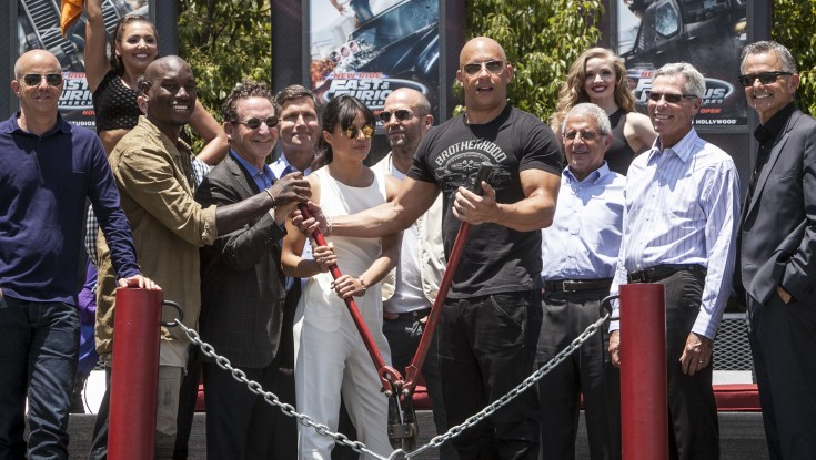 Photos: 'Fast and Furious' Takes Over Universal Studios' Backlot