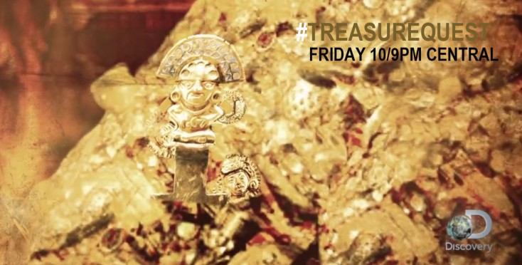 In Search of 'Treasure' on Discovery Channel