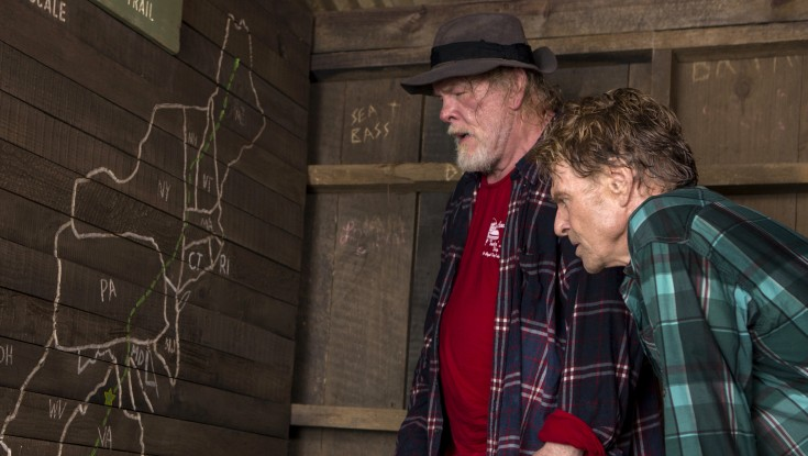 Photos: Robert Redford Takes a 'Walk' with Nick Nolte