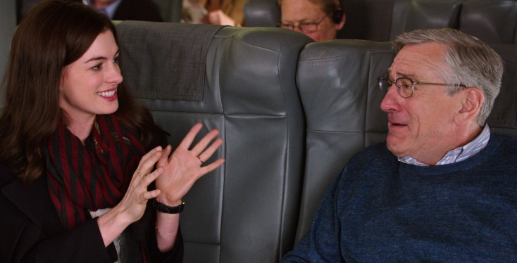 Anne Hathaway is the Boss in 'Intern'