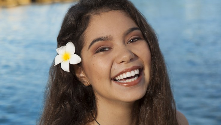 Photos: Newcomer Joins Dwayne Johnson in Polynesian-themed 'Moana'