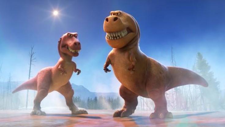 Photos: Sam Elliott and Anna Paquin Show Teeth in 'The Good Dinosaur'