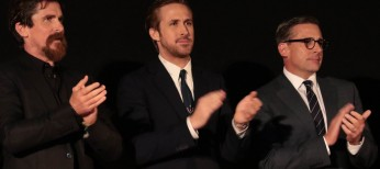 Christian Bale, Steve Carell and Ryan Gosling Talk on 'The Big Short'