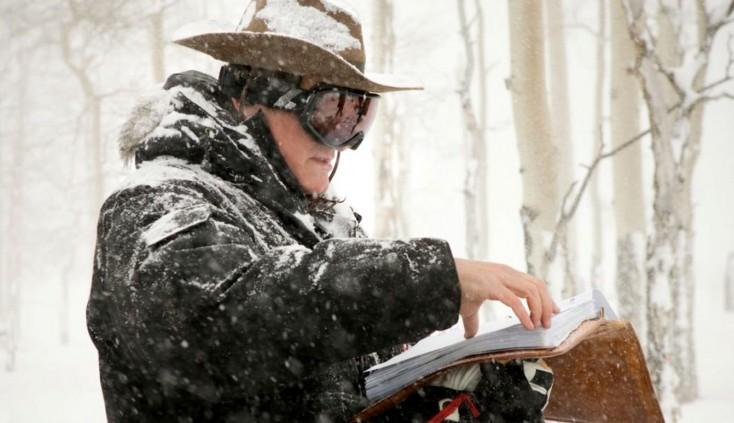 Photos: Quentin Tarantino Shoots 'Hateful Eight' Western Old School