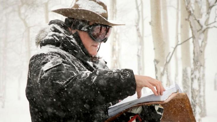 Quentin Tarantino Shoots 'Hateful Eight' Western Old School