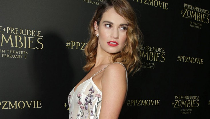 Photos: Ubiquitous Lily James Gives Austen Parody 'Pride and Prejudice and Zombies' a Shot
