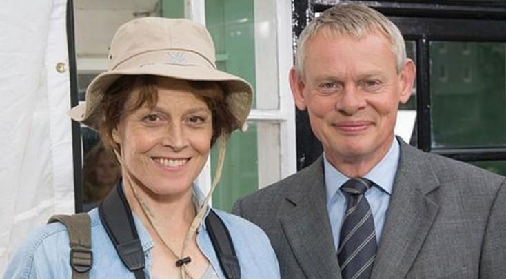 Sigourney Weaver Guest Stars on 'Doc Martin'