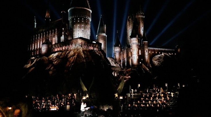 Universal Studios Holds Fireworks Spectacular with  'Harry Potter' Attraction Premiere