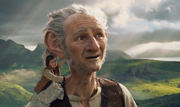 Photos: Mark Rylance Tackles Giant Role in 'The BFG'