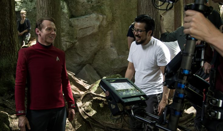 Photos: Simon Pegg on Scripting and Starring in 'Star Trek Beyond'