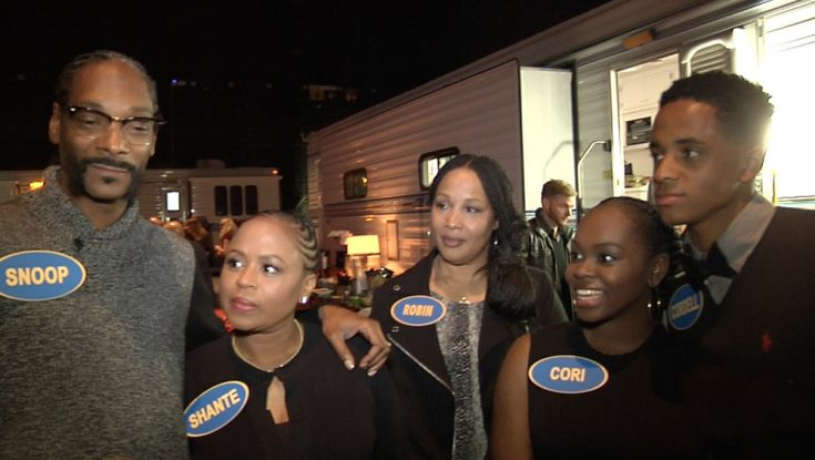 Snoop Dogg Gets Into a 'Family Feud' For Charity