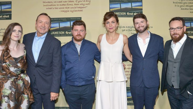 Kevin Spacey, Maggie Gyllenhaal Celebrate Jameson Short Film Winners
