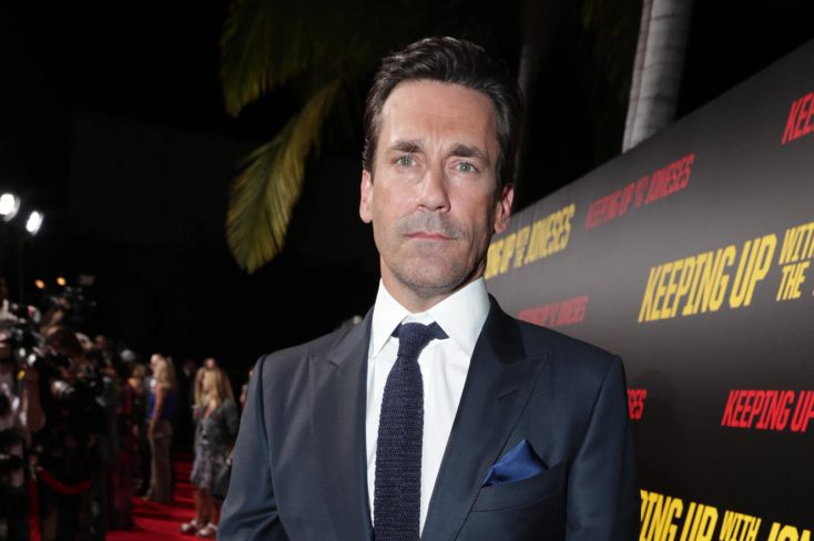 Hamm. Jon Hamm in 'Keeping Up with the Joneses'