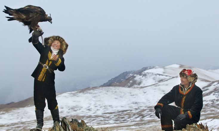 Photos: 'Star Wars' Actress Daisy Ridley and Documentarian Talk 'The Eagle Huntress'