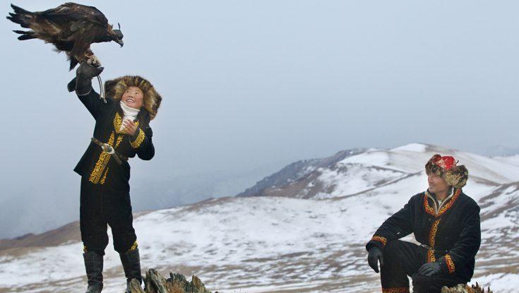 Photos: 'Star Wars' Actress Daisy Ridley and Documentarian Talk 'The Eagle Huntress'