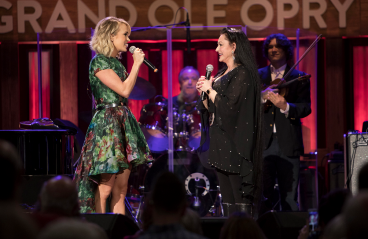 Crystal Gayle Not So 'Blue' with Opry Honor
