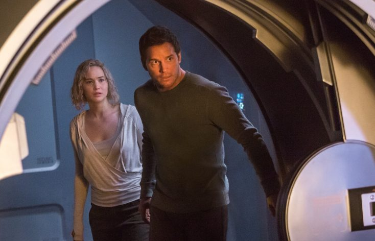 Photos: SF Romance 'Passengers' Is One of 2016's Best Films