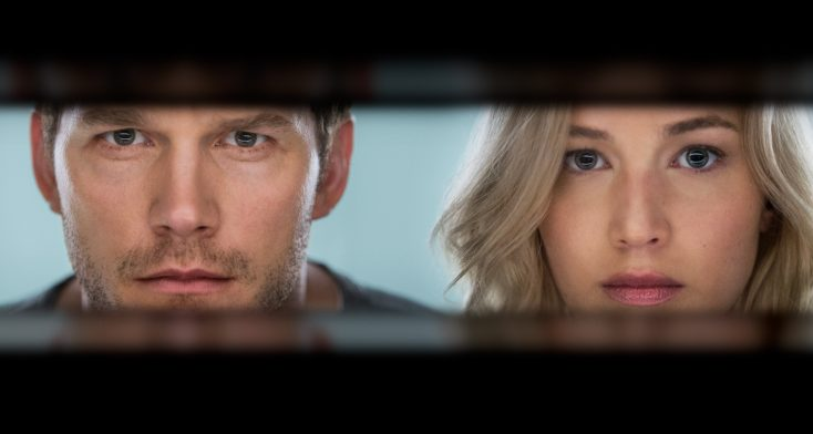 Jennifer Lawrence, Chris Pratt Aboard 'Passengers'