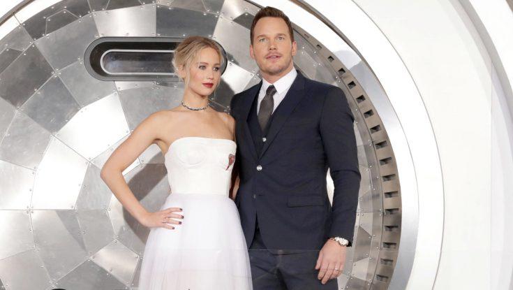 Photos: Jennifer Lawrence, Chris Pratt Aboard 'Passengers'