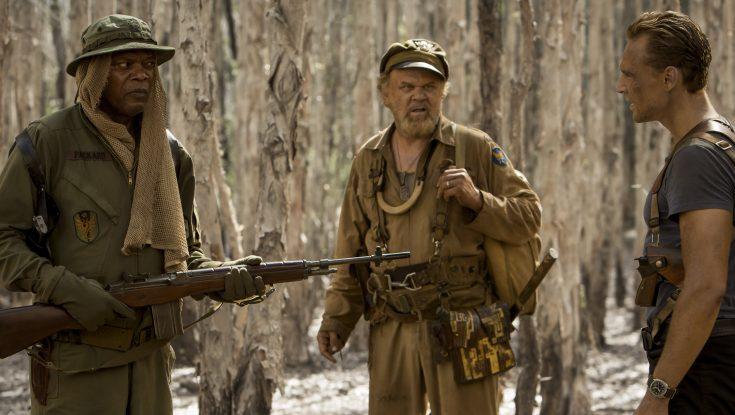 Photos: Samuel L. Jackson Relives Childhood Fantasy Starring in 'Kong: Skull Island'