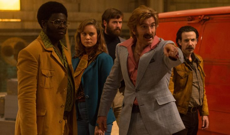 Photos: Future Captain Marvel Star Brie Larson Pulls the Trigger on 'Free Fire'