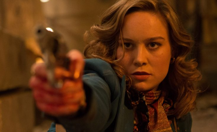 Future Captain Marvel Star Brie Larson Pulls the Trigger on 'Free Fire'