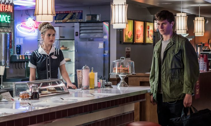 Photos: Lily James Goes Contemporary in Edgar Wright's 'Baby Driver'