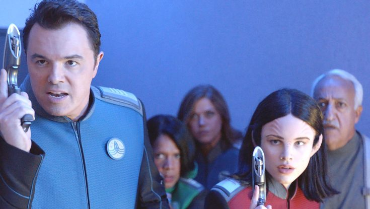 Photos: Seth MacFarlane Boldly Goes Where Sci-Fi Shows Used to Go in New Series