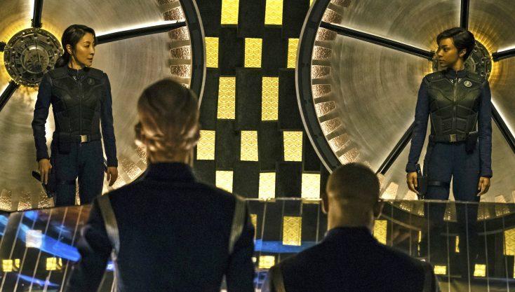 Photos: 'Walking Dead's' Sonequa Martin-Green Discovers the Heavens in New 'Star Trek' Series