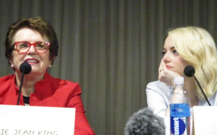 Photos: Billie Jean King Recalls 'Battle of the Sexes'