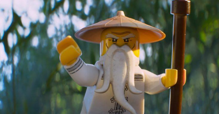 Jackie Chan is the Master in 'Ninjago' Movie