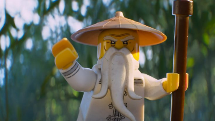 Jackie Chan is the Master in 'Ninjago' Movie