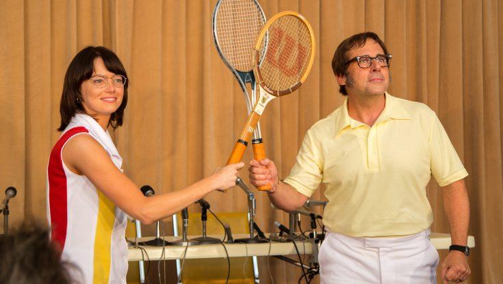Steve Carell Takes the Court to Play Real-Life Character in 'Battle of the Sexes'