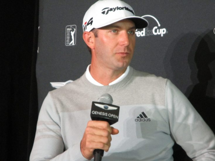 World No. 1 Ranked Dustin Johnson Returns to Defend Genesis Open Title