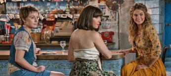 Photos: EXCLUSIVE: Alexa Davies Tries on Platform Boots of Julie Walters in 'Mamma Mia!' Sequel