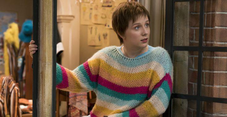 EXCLUSIVE: Alexa Davies Tries on Platform Boots of Julie Walters in 'Mamma Mia!' Sequel