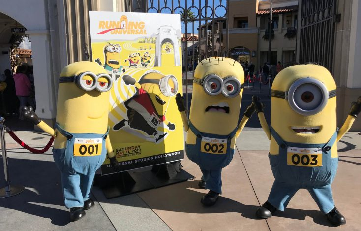 Minions Join in the Fun for the Upcoming Running Universal 5K Run