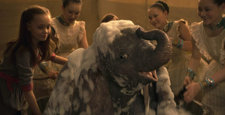 Photos: Tim Burton is the Ringmaster of 'Dumbo' with a Cast of 'Weird' Characters