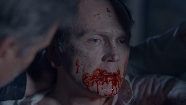 Photos: EXCLUSIVE: Horrormeister Aaron B. Koontz Knocks Out Cowboys vs. Witches Mashup with 'The Pale Door'